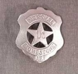 Deluxe U.S. Marshal Tombstone Badge