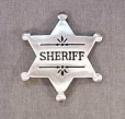 Deluxe Sheriff Badge.
