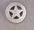Deluxe Texas Ranger Badge.