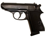 PPK 8MM Blank Firing Gun � Black