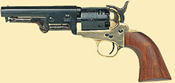 1851 Navy Brass Sheriff Black Powder Revolver