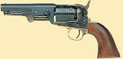 1851 Navy Steel Sheriff Black Powder Revolver
