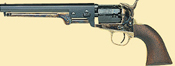 1851 Navy Steel Black Powder Revolver