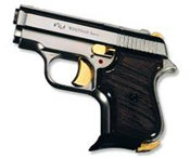 Beretta Jetfire 950 8mm Blank Guns-Nickel-Gold