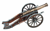 Louis XIV French Cannon.