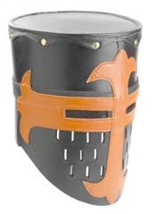 Leather Knights Helmet