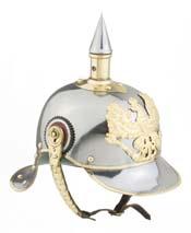 PRE WWl Imperial German spiked Helmet