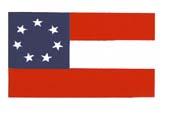 Stars & Bars Confederate Flag