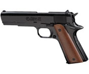 Kimar 1911 Blank Firing Gun 8mm Black-Wood