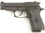 Beretta M85-8MM Replica Blank Firing Gun-Black
