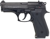Beretta V92-F Compact 9MM PA Blank Firing Guns - Black