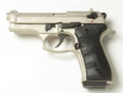 Beretta V92F Compact 9MM PA Blank Firing Guns - Nickel