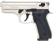 Beretta Cougar 9MM PA Blank Firing Guns - Nickel