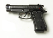 Beretta V85-B - 9MM PA Blank Firing Guns - Black