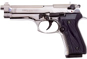 V92F Jackal Fully Automatic Beretta 9MM PA Blank Gun Nickel