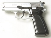 ARAS Compact 9MM PA Blank Firing Gun Nickel