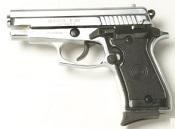 P229 Replica Sig Sauer 9 MMPA Blank firing gun Nickel