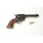 Western 1873 nonfiring Replica Revolver, Black