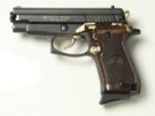 Sig Sauer P229 Replica 9 MMPA Blank firing gun Black Gold