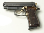 P229 9 MMPA Blank firing gun Black Gold