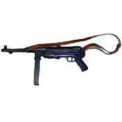 German WW II Submachine Gun Replica