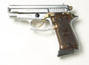 P229 9 MMPA Blank firing gun Nickel Gold