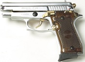 P229 Sig Sauer Replica 9 MMPA Blank firing gun Nickel Gold