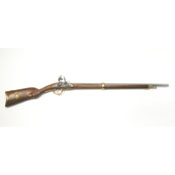 French Model 1807 Non Firing Flintlock Rifle-Brass