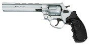 "Viper 6"" Barrel 9mm Blank Firing Gun-Nickel"
