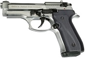 Full Automatic Blank Gun Beretta V92F Jackal Compact 9MM PA Chrome