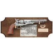Civil War Union Framed Set Dark Wood