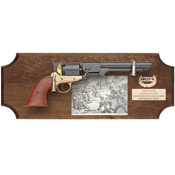 Deluxe Civil War Confederate Collection Set Dark Wood