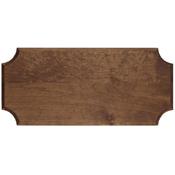 Small Stained Pine Pistol/Dagger Frame Dark Wood