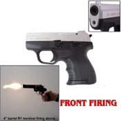 Zoraki M906 Front Fire 9MMPA Blank Gun-Nickel