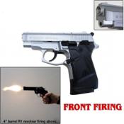 Zoraki M914 Full Auto Front Fire 9MMPA Blank Gun-Nickel