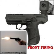 Zoraki M925 Full Auto Front Fire 9MMPA Blank Gun-Black