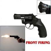 "Zoraki R1 2.5"" Revolver Front Fire Blank Gun 380/9MMPA Black"