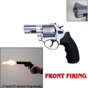 "Zoraki R1 2.5"" Revolver Front Fire Blank Gun 9MMPA/380 Nickel"