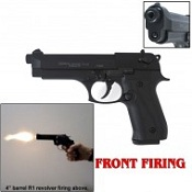 Front Firing Jackal Full Auto 9MMPA Blank Gun-Black