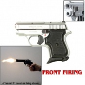 Front Firing Jetfire Blank Gun 8MM-Chrome