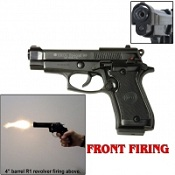 Front Firing V85 Blank Firing 9MMPA Blank Gun-Black