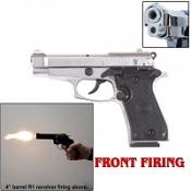 Front Firing V85 Blank Firing 9MMPA Blank Gun-Chrome