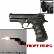 Front Firing Beretta Cougar Blank Firing Gun-Black