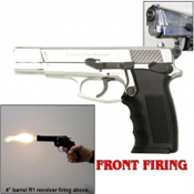 ARAS SWAT Front Firing Replica Gun-Chrome Finish