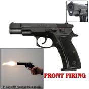 M75 Front Firing 9MM PA Blank Gun-Black