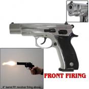 M75 Front Firing 9MMPA Blank Gun-Chrome