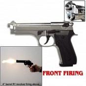 V92F Front Firing blank gun Chrome