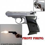 V-PPK Front Firing MVP Blank Gun-Chrome