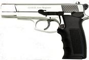 ARAS SWAT 9MMPA Blank Firing Gun Nickel