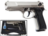 Blow F06 9MM Blank Firing Replica Gun Satin Finish